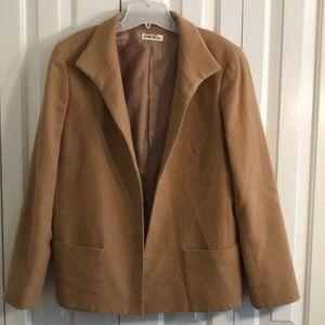 Barry Bricken size 12 wool blazer with pockets